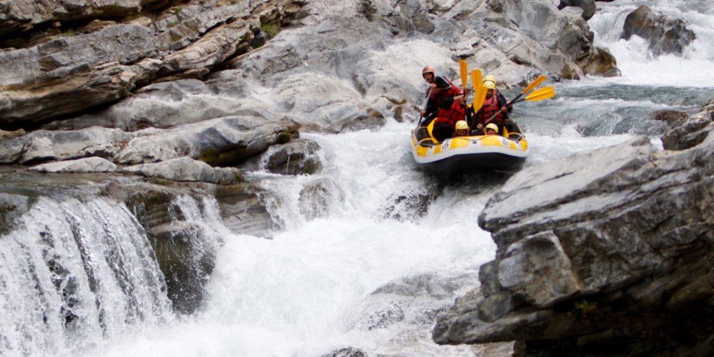Rafting dans le Guil Parc Régional du Queyras