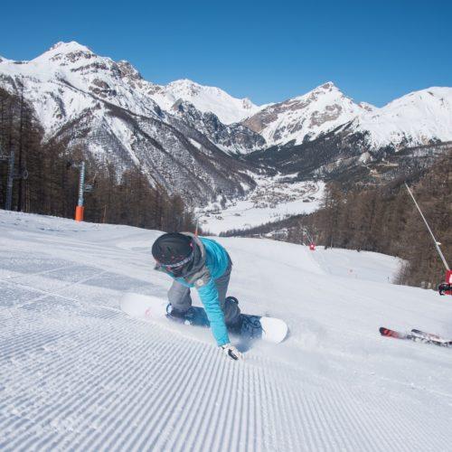 Ski alpin Arvieux en Queyras