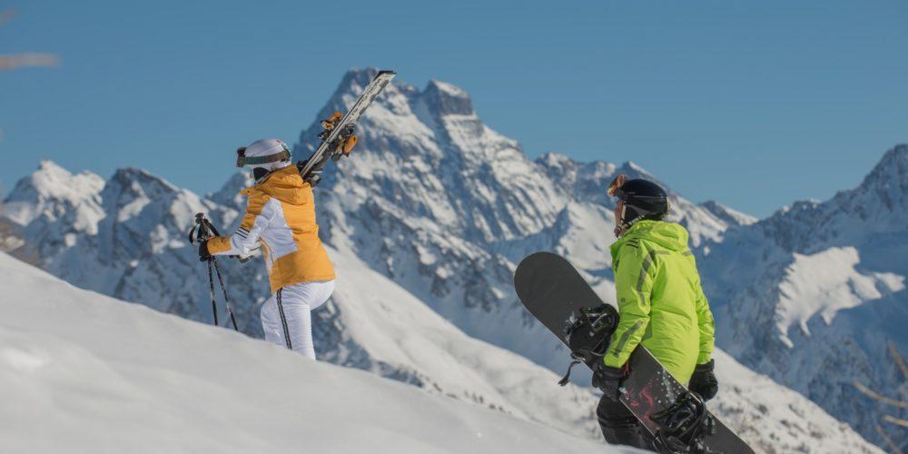 Snowboard Arvieux en Queyras